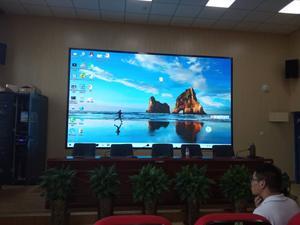 合肥市三十八中学室内小间距显示屏