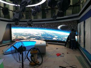 福州市电视台室内4K高清高刷小间距显示屏